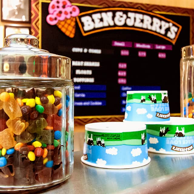 Ben And Jerrys Ice Cream Parlour