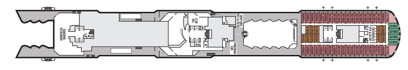 Nieuw Statendam Deck Plans